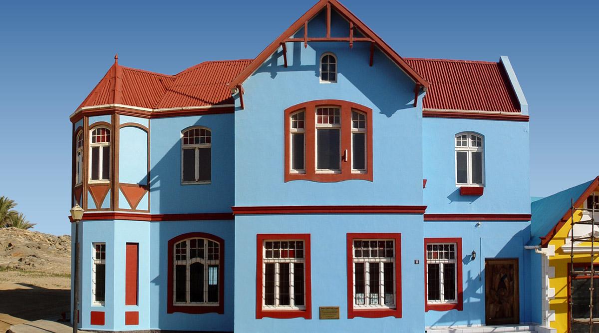 Malermeister Hannemann Schwerin Fassadenanstrich